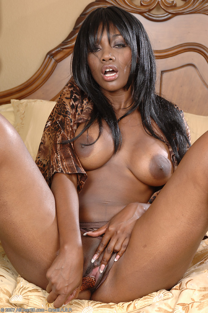 Ebony milfs at home